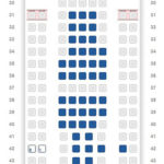 Is the worst seat in the air the middle on AA's 2-5-2 777?