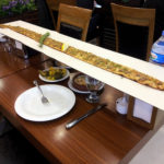 A meter of pizza in Istanbul