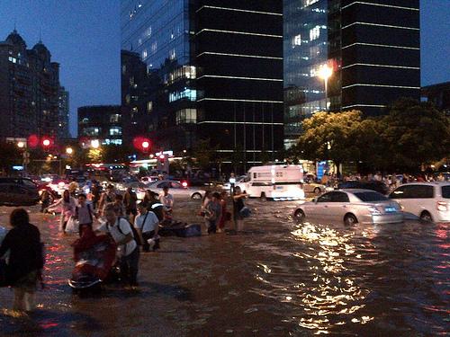 Shanghai Flash Flood 2