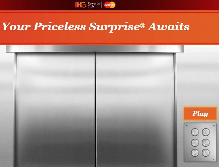 IHG Priceless Surprises