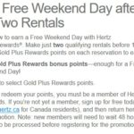 Register for the Right Hertz 550 Point Offer and Will It Double With the LDW Offer?