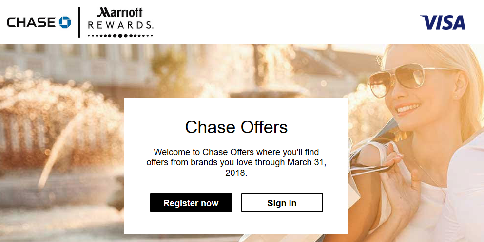 Chase Offers Ends
