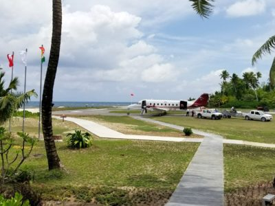 Four Seasons Desroches Island Airport Runway