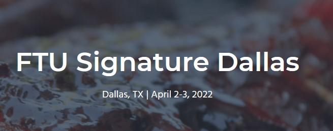 FTU Signature Dallas 2022